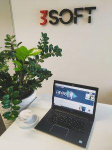 Zespół 3Soft podczas targów NRF 2021 CHAPTER ONE zaprezentował platformę Occubee